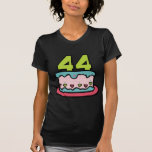 44 Year Old Birthday Cake Shirts