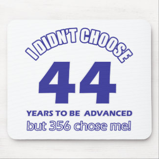 44 years advancement mouse pad