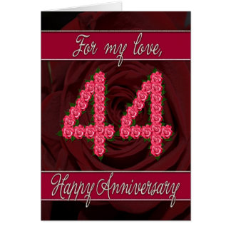 Wedding Gift For 44 Years : 44th Wedding Anniversary Gifts - T-Shirts, Art, Posters & Other Gift ...