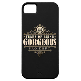 44th Birthday (44 Years Of Being Gorgeous) iPhone 5 Case