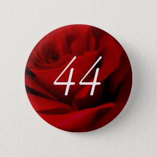 44th Birthday 6 Cm Round Badge