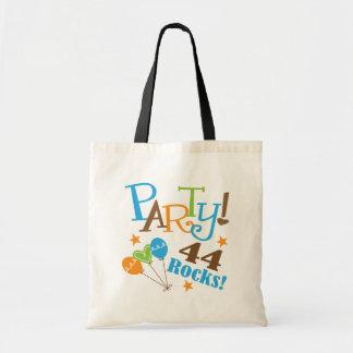 44th Birthday Gift Ideas Canvas Bags