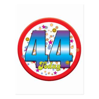 44th Birthday Today v2 Postcard
