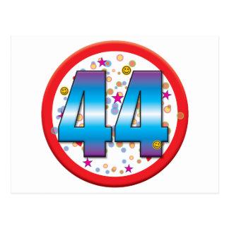 44th Birthday v2 Postcards