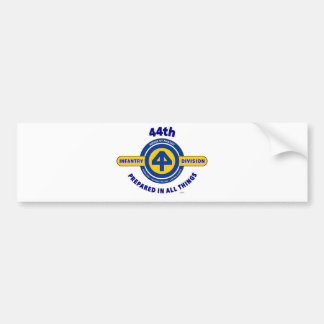 """44TH INFANTRY DIVISION """"PREPARED IN ALL THINGS"""" BUMPER STICKER"""