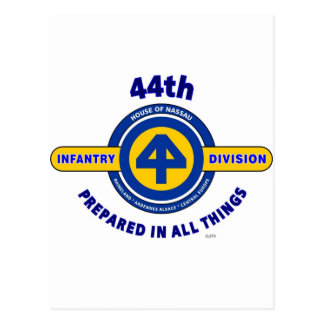 "44TH INFANTRY DIVISION ""PREPARED IN ALL THINGS"" POSTCARD"
