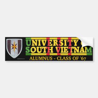 44th Med Bde - U of South Vietnam Alumnus Sticker Bumper Sticker