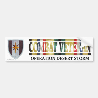 44th Medical Brigade SWA Combat Veteran Sticker Bumper Sticker