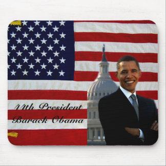 44th President Barack Obama_Mousepad_by Elenne Mouse Pad