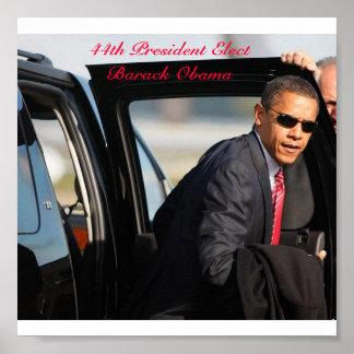 44th President ElectBarack Obama Poster