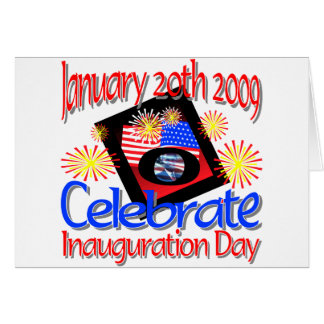 44th President  January 20th 2009 Inauguration Greeting Cards