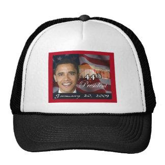 44th President Memorabilia Trucker Hats