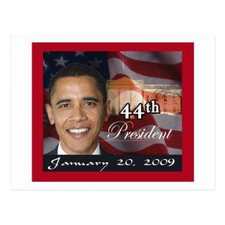 44th President Memorabilia Postcard