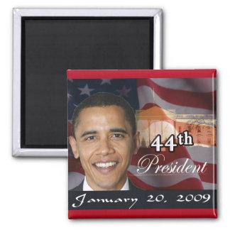 44th President Memorabilia Square Magnet