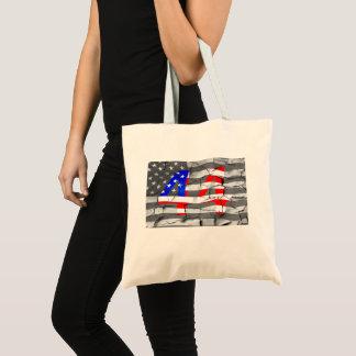 44th President Obama Fan Flag Tote Bag