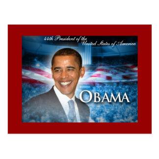 44th President OBAMA Postcard