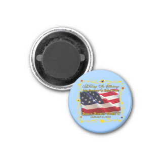 44th President of the USA Gifts and Apparel 3 Cm Round Magnet