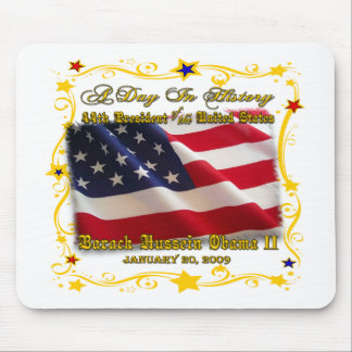 44th President of the USA Gifts and Apparel Mouse Mat