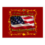 44th President of the USA Gifts and Apparel Post Card