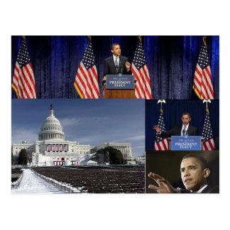 44th President of  usa, Barack Obama Postcard