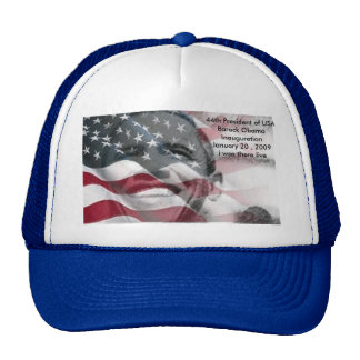 44th President of USA Mesh Hats