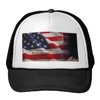44th President of USA Mesh Hat