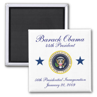 44th President Square Magnet