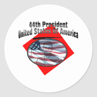 44th President United States Of America Sticker