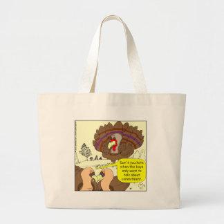 450 turkey commitment Cartoon Tote Bag