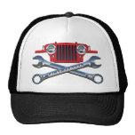 45-49 Red Flatfender Hat