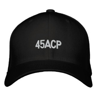45 acp anno Embroidered Hat