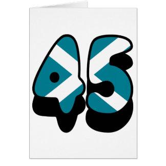45 CARD