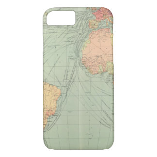 45 lines of communication, Atlantic Ocean iPhone 8/7 Case