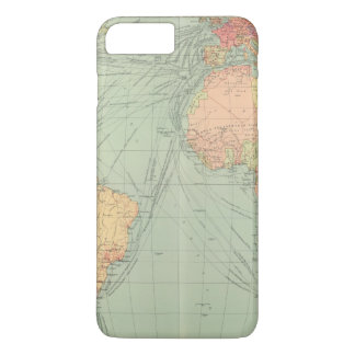 45 lines of communication, Atlantic Ocean iPhone 8 Plus/7 Plus Case