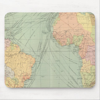 45 lines of communication, Atlantic Ocean Mouse Mat