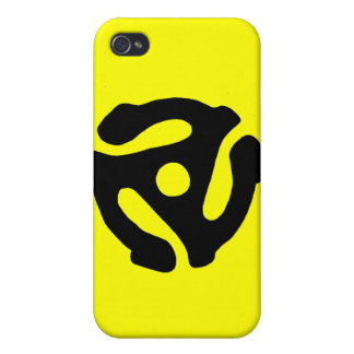 45 RPM adapter iPhone 4/4S Covers