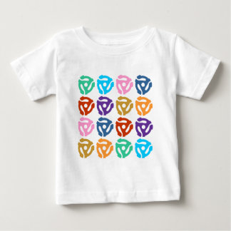 45 RPM Record Adapter Pop Art Baby T-Shirt