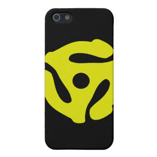 45 RPM Record Insert Black iPhone 4 Speck Case iPhone 5 Covers
