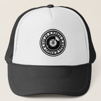 45 RPM. Vinyl Record Black and White 2 Trucker Hat