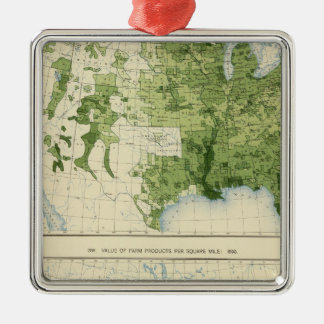 45 Value farm products 1890 Christmas Ornament