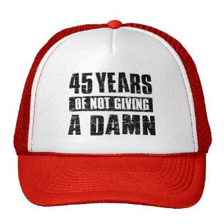 45 years cap