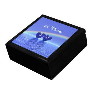 45th Anniversary Sapphire Hearts Gift Box