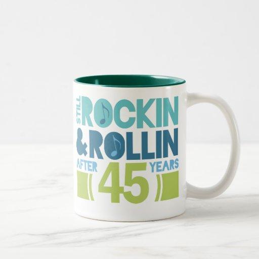 45th Anniversary Wedding Gift Mug