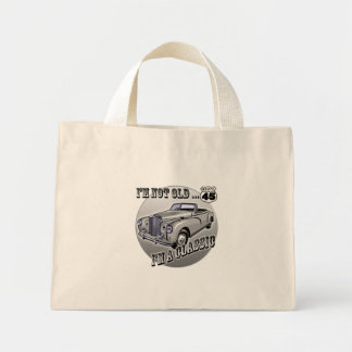 45th Birthday T-shirts and Gifts Mini Tote Bag