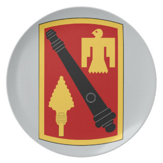 45th FIRES  Brigade Party Plate