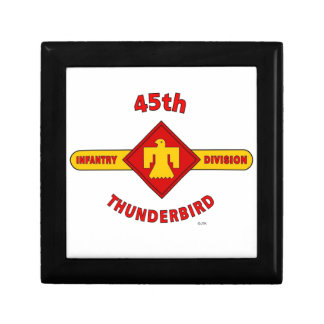 "45TH INFANTRY DIVISION ""THUNDEBIRD"" GIFT BOX"