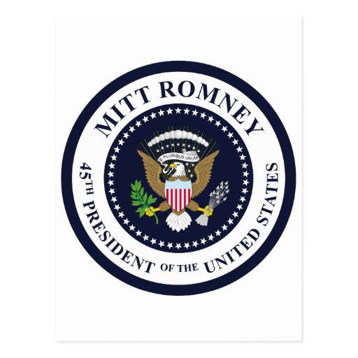 45th President Postcards