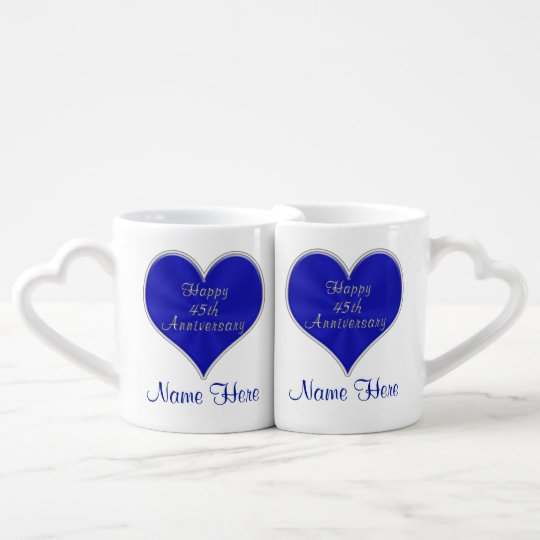 45th Wedding Anniversary Gifts for Parents, Couple Coffee