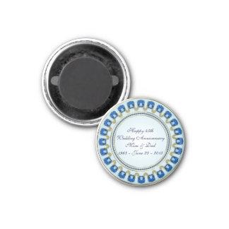 45th Wedding Anniversary Magnet Fridge Magnets
