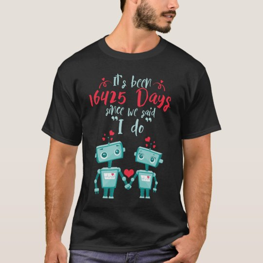 45th Wedding Anniversary Shirt.Cute Gift T-Shirt